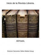AliYoshi. - Inicio de la Revista Libreria.