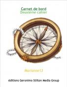 Marianne13 - Carnet de bordDeuxième cahier