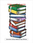 Petru Stilton - folder van de 5 eerste boeken in 2017