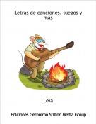 Leia - Letras de canciones, juegos y más
