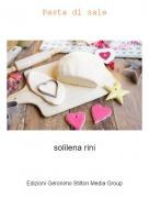 solilena rini - Pasta di sale