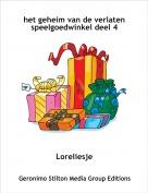 Loreliesje - het geheim van de verlaten speelgoedwinkel deel 4