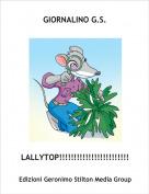 LALLYTOP!!!!!!!!!!!!!!!!!!!!!!!!! - GIORNALINO G.S.