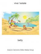 betty - viva l`estate