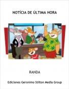 RANDA - NOTÍCIA DE ÚLTIMA HORA