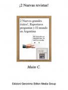 Maite C. - ¡2 Nuevas revistas!