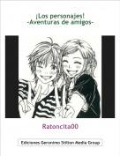 Ratoncita00 - ¡Los personajes!-Aventuras de amigos-