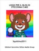 Squittina2011 - LOGHI PER IL BLOG DI STECCHINA E MIO