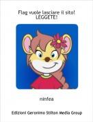 ninfea - Flag vuole lasciare il sito!  LEGGETE!