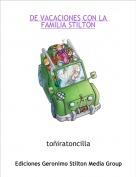 toñiratoncilla - DE VACACIONES CON LA FAMILIA STILTON