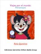 Rola Quesitos - Viajes por el mundo: Personajes