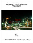 RA. - Mystery City(El giratiempo)PERSONAJES