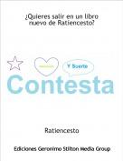 Ratiencesto - ¿Quieres salir en un libro nuevo de Ratiencesto?