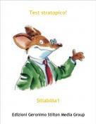 Siliabilia1 - Test stratopico!