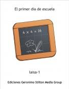 laisa-1 - El primer dia de escuela