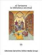 lili - el fantasma la biblioteca secreta2