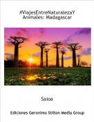 Saioa - #ViajesEntreNaturalezaYAnimales: Madagascar