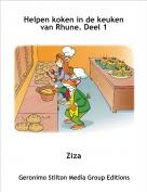 Ziza - Helpen koken in de keuken van Rhune. Deel 1