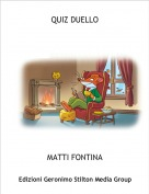 MATTI FONTINA - QUIZ DUELLO