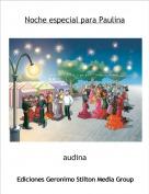 audina - Noche especial para Paulina