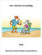 niek - een slechte stranddag