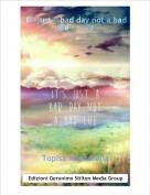 Topisa Mozzarella - It's just a bad day not a bad life ... (1)