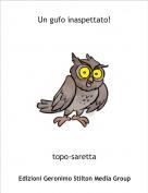 topo-saretta - Un gufo inaspettato!