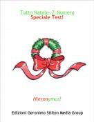 Hieronymus! - Tutto Natale- 2' NumeroSpeciale Test!