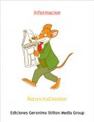 RatoncitaCheddar - Informacion