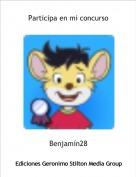 Benjamín28 - Participa en mi concurso