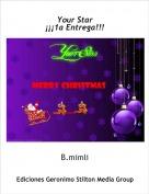 B.mimli - Your Star¡¡¡1a Entrega!!!