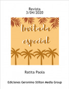 Ratita Paola - Revista3/04/2020