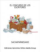 SACHAPARMESANO - EL CONCURSO DE LOS ESCRITORES