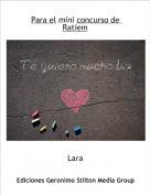 Lara - Para el mini concurso de Ratiem