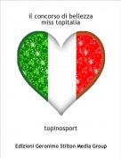 topinosport - il concorso di bellezzamiss topitalia
