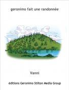 Vanni - geronimo fait une randonnée