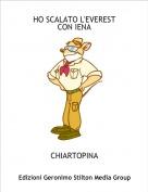 CHIARTOPINA - HO SCALATO L'EVERESTCON IENA