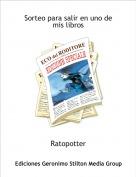 Ratopotter - Sorteo para salir en uno de mis libros