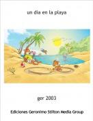 ger 2003 - un dia en la playa