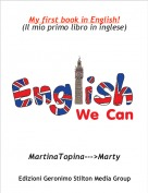 MartinaTopina--->Marty - My first book in English!