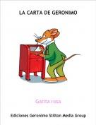 Gatita rosa - LA CARTA DE GERONIMO