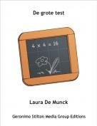 Laura De Munck - De grote test