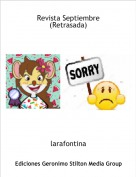 larafontina - Revista Septiembre(Retrasada)