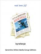 kyreliesje - wat lees jij?