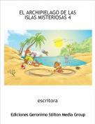 escritora - EL ARCHIPIELAGO DE LAS ISLAS MISTERIOSAS 4