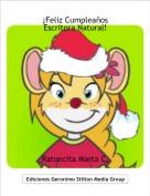 Ratoncita Marta C. - ¡Feliz CumpleañosEscritora Natural!