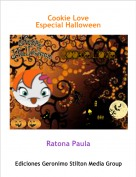 Ratona Paula - Cookie LoveEspecial Halloween