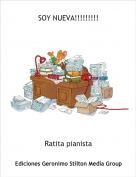 Ratita pianista - SOY NUEVA!!!!!!!!!