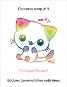 Penelope Mouse # - Concurso scrap Afri