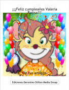 De tus amig@s - ¡¡¡Feliz cumpleaños Valeria Ratisa!!!